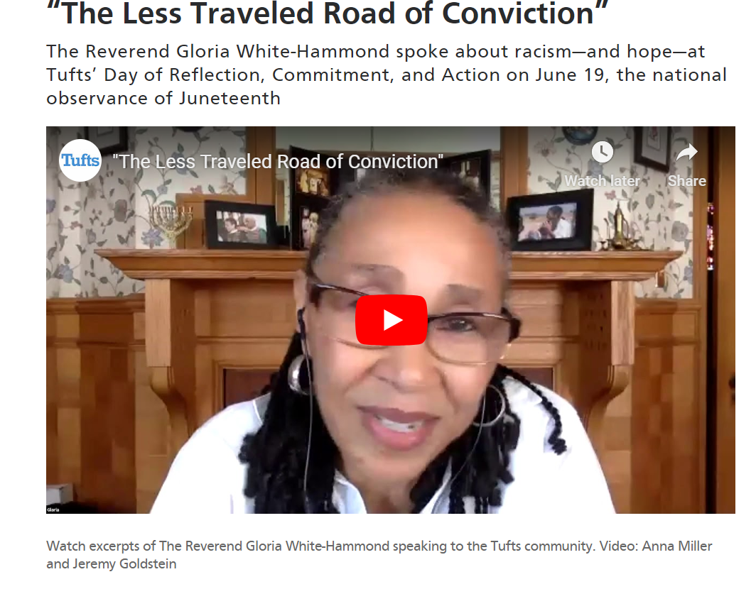 Less Traveled Road of Conviction